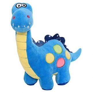 peluche dinosaure bleu