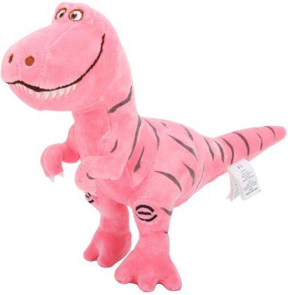 peluche dinosaure rose