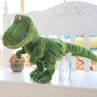 peluche dinosaure vert