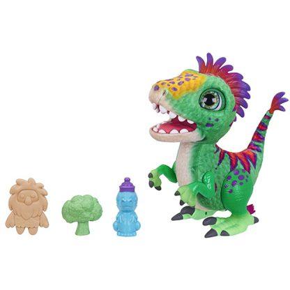 peluche dinosaure interactive regalorex