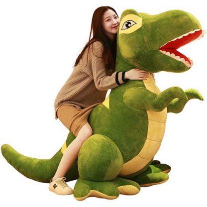 peluche géante dinosaure