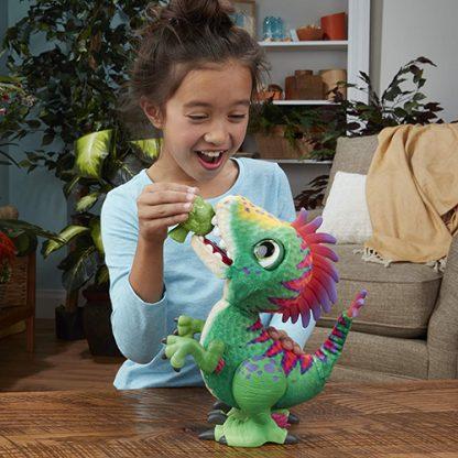 peluche interactif dinosaure regalorex