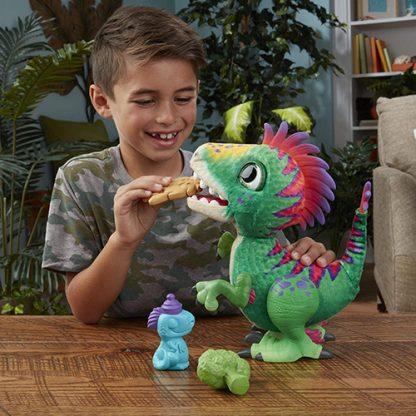 peluche interactive dinosaure regalorex