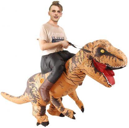 Deguisement Dinosaure Gonflable Adulte Tyrannosaurus Rex- Snuter