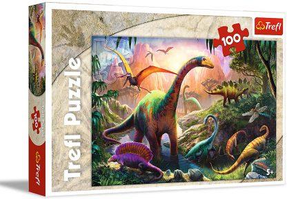 Puzzle 100 pièces Dinosaur Pay - Trefl