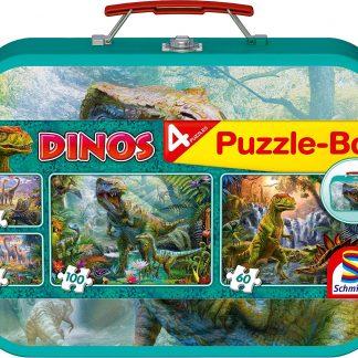 Puzzle 2 x 60 et 2 x 100 pièces - Schmidt Spiele