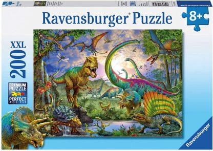 Puzzle 200 pièces Le Royaume des Dinosaures - Ravensburger