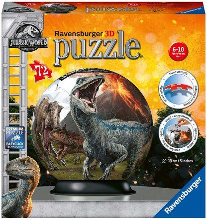 Puzzle 3D 72 pièces : Jurassic World 2 - Ravensburger