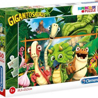 Puzzle enfant 60 pièces - Clementoni Gigantosaurus