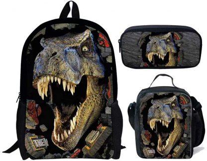 Sac à Dos Dinosaure 3D - chaqlin