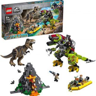 LEGO®- Jurassic World™ La bataille du T. rex contre le Dino Mech Jouet