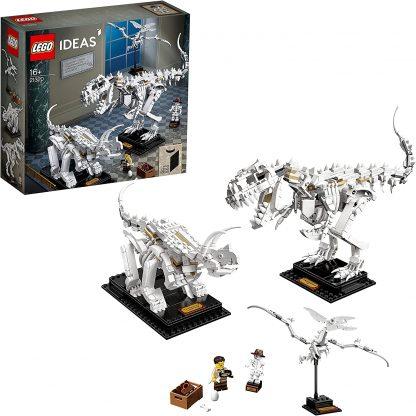 LEGO Ideas - Jouet de Construction en Forme de fossiles de Dinosaure