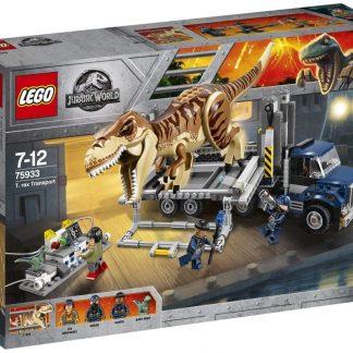 Lego Jurassic World T. Rex Transport - 609 Pieces