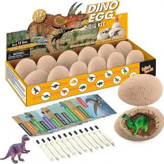Morkka Oeufs Magiques Dinosaure - 12 Dinos Différents