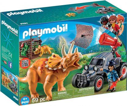 PLAYMOBIL - Bandit avec tricératops