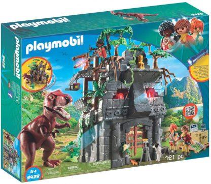 PLAYMOBIL - Campement des explorateurs avec tyrannosaure