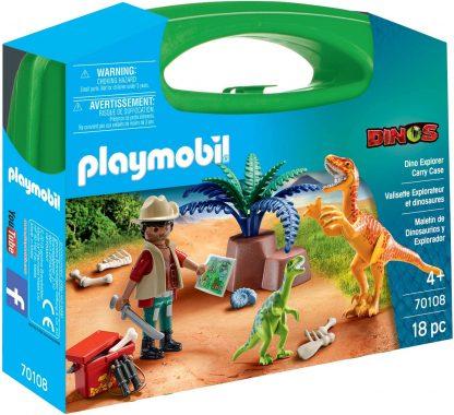 Playmobil - Dinos Explorer Carry Case