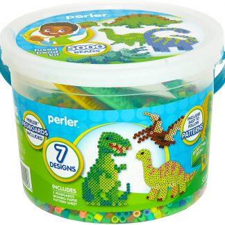 Seau Perles à Repasser Dinosaure