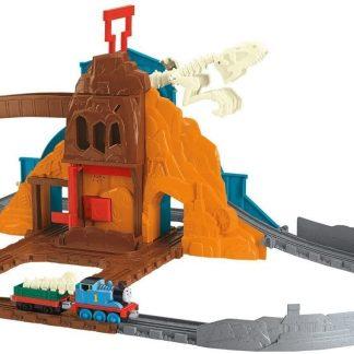 Thomas & Friends - Circuit de train - Thomas et Ses Amis Le Dinosaure Rugissant