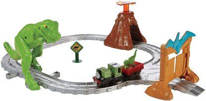 Thomas et ses amis Coffret avec dinosaure T-Rex