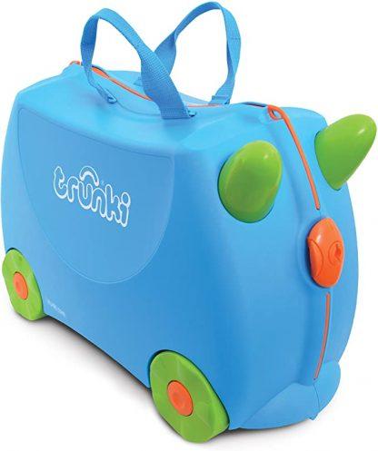 Trunki - Sac cabine enfant à conduire Bleu