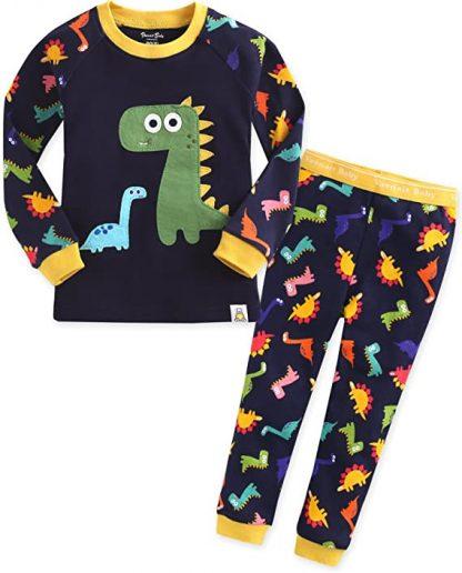 Vaenait Baby Ensemble de pyjama à manches longues pour enfant de 1 à 7 ans