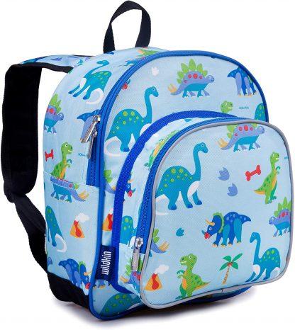 Wildkin - Sac à Dos Enfant Dinosaure Multicolore